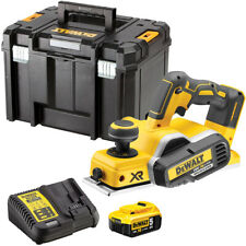 Dewalt DCP580N 18V Brushless 82mm Planer with 1 x 5Ah Battery & Charger in Case