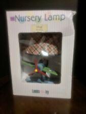 NIB Lambs & Ivy Wings Nursery Lamp #6624 with Shade