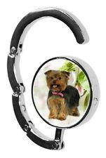 Yorkshire Terrier Dog Table Bag Handbag Purse Hanger Hook-2 paws2print