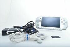 Excellent SONY PSP-2000 PSP 2000 Ice Silver Play station Expedited DHL 0190