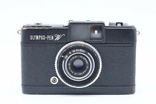 [RARE EXC++++] OLYMPUS PEN W Wide Black Half Frame Film Camera From JAPAN #778