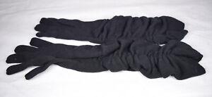 Marc Jacobs 100% Cashmere Black Womens Glove Drape S New