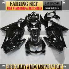 High Quality Black Fairing Kit Fit Kawasaki Ninja 250R 2008-2012 ABS Injection