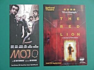 2 x Dad's Army Line of Duty star DANIEL MAYS London Theatre flyers