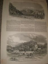 War in Punjab India Fort of Rhotas 1849 prints and article ref AZ