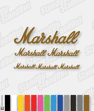 Marshall Amp / Guitar Style Decal - 16+ Custom Colours
