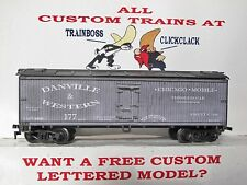 Ho Custom Lettered Danville & Western Freight Car Reefer. Lot A