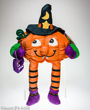 Halloween Plush Pumpkin Witch Sharan Simkins Holiday Workshop Stuffed Toy Decor