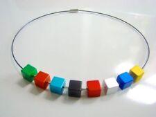 Beauty Modeschmuck-Halsketten & -Anhänger im Halsreif Edelstahl-Stil