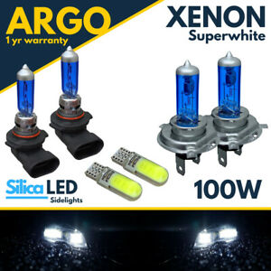 Seat Ibiza Headlight Bulbs Mk4 Fog 100w 2012-17 Xenon Led White Hid Side Light