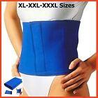 XL-XXL-XXXL Waist Trimmer Belt Slimming FAT BELLY BURNER Sweat Detox Wrap Sauna