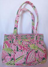 VERA BRADLEY Pink Pinwheel Shoulder Bag Purse Handbag Tote Umbrella Case