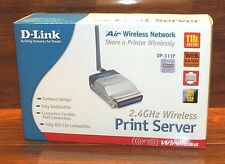D-Link DP-311P Wireless Print Server (11 Mbps) (1 Centronics​) NEW In Box!