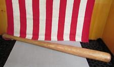 "Vintage Ted Williams Baseball Equipment Wood Baseball Bat Williams Model 29"""