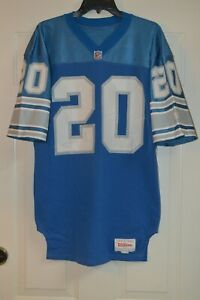VTG WILSON NFL FOOTBALL PROCUT DETROIT LIONS #20 JERSEY BILLY SIMS BARRY SANDERS