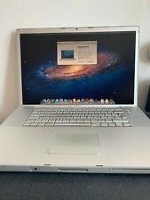 "Apple MacBook Pro A1212 Portable 17"" - MA611LL/A (2006) (320 Go disque dur) (1 Go RAM)"
