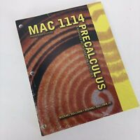 Precalculus Enhanced With Graphing Utilities by Michael Sullivan Mac 1114 New