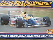 GRAND PRIX CHAMPIONSHIP GAME - 1980'S - FORMULA 1 GAME - UNUSED - RARE FIND - F1