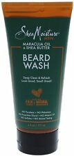 Shea Moisture Men Maracuja Oil - Shea Butter Beard Wash 6 oz (Pack of 3)
