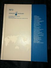 1973 HP Electronic Instruments and Systems for Measurement/Analysis/Compuation
