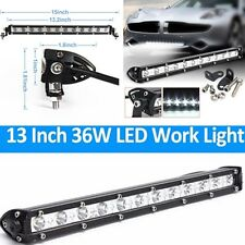 16200 LM Car Offroad Lamp 4WD Boat ATV Driving SUV 13 inch LED Work Light Bar#