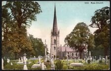 Postcard - Herefordshire - Ross Church.