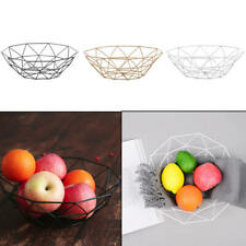 Snack Basket Storage-Products Fruit-Plate Iron Metal Nordic Luxury Home Fashion