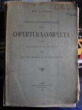 Ciappi CALCOLO COSTRUZIONE COPERTURA COMPLETA TIPO POLONCEAU A UN CONTRAFFISSO