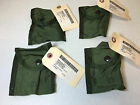 LOT OF 4 MILITARY ISSUED COMPASS / FIRST AID POUCHES OD GREEN ALICE LC-1 NWT