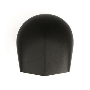 Copri clacson nero goffrato per Harley 93-17 Softail, Dyna, Touring, Sportster
