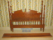 Ethan Allen Baumritter Pediment Heirloom Maple Full Double Bed 587