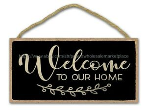 cabin lounge wall art welcome to our home housewarming wood sign