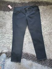 Womens Ladies Liz Lange Maternity Jeggings /Jeans under the belly  XL BNWT Blue