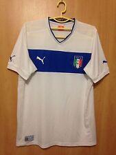 ITALY NATIONAL TEAM 2012/2014 AWAY FOOTBALL SHIRT JERSEY MAGLIA PUMA
