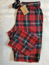 Joules Women   Red Check PJ Bottoms UK 8 RRP £ 32.95