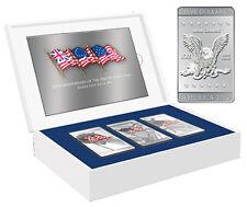 Mesa Grande 2010 3 x 1 Dollars Flags of America Coin SET