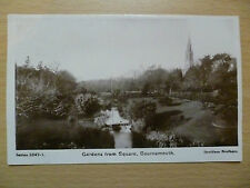 1909 Postcard- GARDEN FROM SQUARE, BOURNEMOUTH, Hampshire, 5247-1