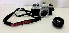 New ListingPentax K1000 35mm Slr Film Camera with 50 mm lens Kit. Vintage. Please Read.