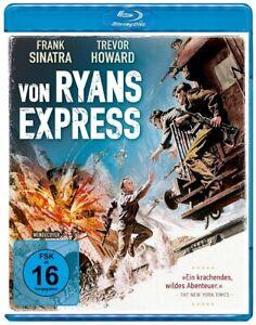 Von Ryans Express [Blu-ray/NEU/OVP] Frank Sinatra und Trevor Howard als Gegenspi