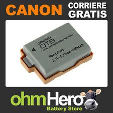 Batteria Alta Qualità per Canon EOS 1000D