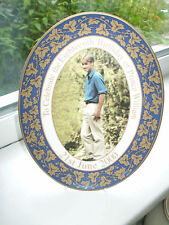 Royal Worcester Prince William Plate 18th Birthday Limited Edition 2000 Rare