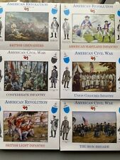 A Call To Arms 1/32 American Wars Set Of 6 Boxes Confederate , Maryland, British