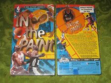 BRAND NEW NBA IN THE PAINT VHS VIDEO BARKLEY PIPPEN KEMP RARE MOVIE NOT ON DVD!