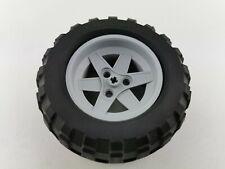 Lego® Technic Rad Reifen mit grauer Felge 44772c02 94.8 x 44R 8297 8284 8063