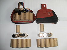 1 kit batterie hilti sfb 185 3Ah ( batteria battery, bateria NI MH (only 15 cels