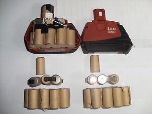 2 blocs  batterie hilti sfb185 3,3 Ah (bateria akku battery batteria