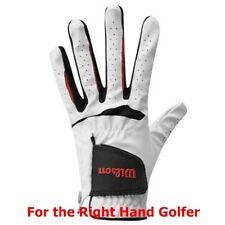 3 Wilson Feel Plus Golf Gloves White - Glh Mens Large - New