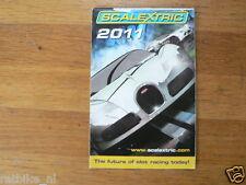 SCALEXTRIC CATALOGUE ISSUE 2011 JAMES BOND 007,DISNEY PIXAR CARS,PRO RACING A