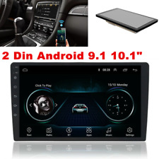 """10.1"""" Android 9.1 Double 2Din Car Stereo Radio Wifi GPS OBD2 Mirror Link Player"""