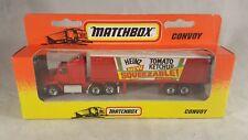 Matchbox Convoy Ford Aeromax Box Truck - Heinz / Mint - Boxed / Rare & HTF